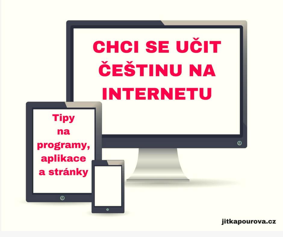 Aplikace a programy, kde se můžete učit češtinu pro cizince na internetu.