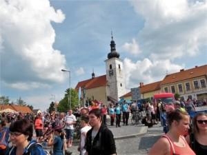Město Prčice - konec pochodu